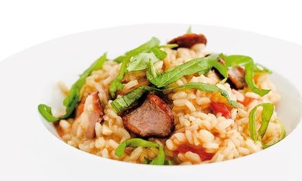 Ris8tto — 3 localizações: menu para dois com piadinas ou risottos, bebidas e opção de crostinis e sobremesas desde 6,90€