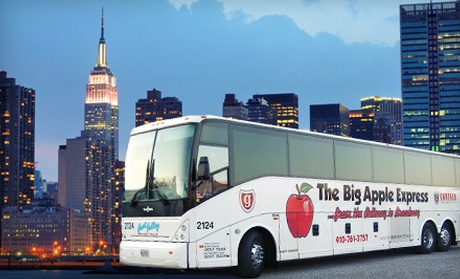Hunt valley motor coach deal of the day groupon for Hunt valley motor coach tours