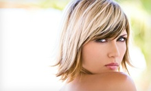 Haircut with Optional Full or Partial Highlights, or Keratin Treatment at Phoenix Salon & Spa (Up to 69% Off)