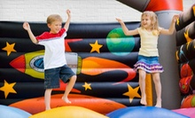 Full-Day Inflatable Moonwalk Rental or Combo Piece Rental from Fun Services (Up to 68% Off)