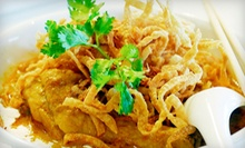$20 for Two Groupons, Each Good for $20 Worth of Asian Cuisine at Noodles ($40 Value)