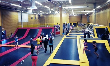 Two-Hour Indoor Jump Session for 2 or 4 Kids, or Birthday Party for 11 Kids at Jump Highway (Up to 49% Off)