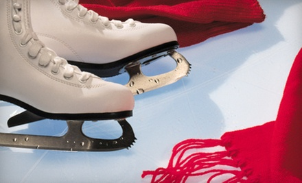 Ice-Skating and Skate Rentals for Two or Four at Sugar Land Ice &amp; Sports Center (Up to Half Off)