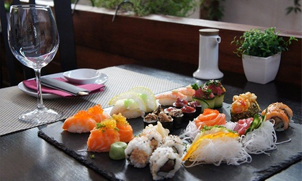 Origami — Príncipe Real: vale de desconto de 50€ ou 100€ em jantar de sushi à la carte para dois ou quatro desde 24,90€
