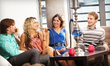 C$10.99 for Shisha and Tea Night with Hummus and Dessert for Two at Crazy Joe's Shisha Cafe (Up to C$21.46 Value)