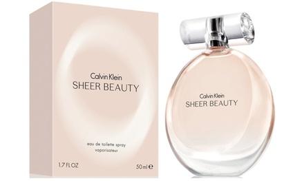 Calvin Klein Sheer Beauty Eau de Toilette for Women, 1.7 Fl. Oz.