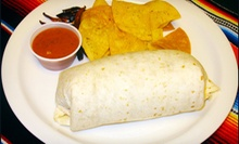 $9 for Burritos and Sodas for Two at Gorditas El Gordo (Up to $18.38 Value)