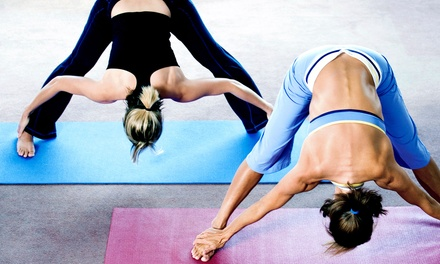 10 or 20 Yoga Classes at Essence of Yoga Studio (Up to 71% Off)