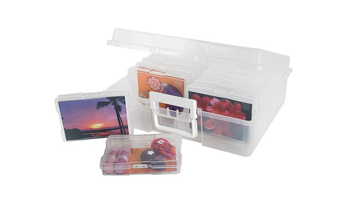 Case Photo Keeper Brand: IRIS Photo and Craft Keeper for 4x6 photos or smaller. Outside case holds 16 - x cm (4