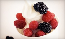 $5 for $10 Worth of Frozen Yogurt at Grooveberries Frozen Yogurt