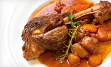 C$20 for C$40 Worth of International Lunch Cuisine at AQUA Restaurant at the Courtyard Edmonton West