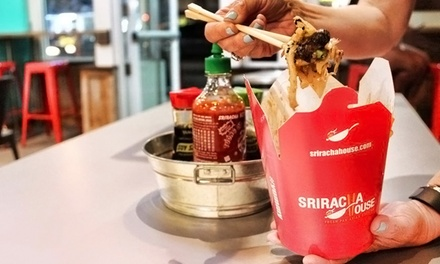 Pan-Asian Meal for Two or Four at Sriracha House (Up to 52% Off)