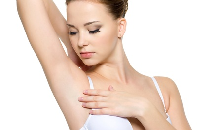 Three IPL hair-removal treatments