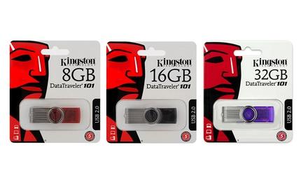 Pendrive Kingston G2 DataTraveler de 8, 16 ou 32 GB desde 5,99€