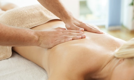 60-Minute Deep-Tissue Massage from Titia Campbell LMT (56% Off)