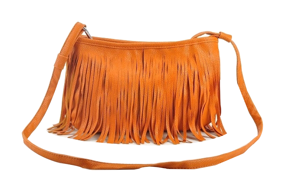 RM25 for a PU Leather Fringe Sling Bag (worth RM59). 3 Colours