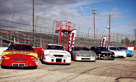 Intro to Stock-Car-Racing School at Competition 101 Racing School (Up to 64% Off). Two Options Available.
