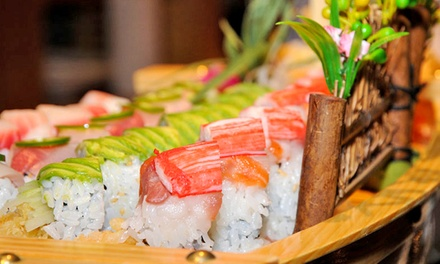 Japanese Dinner for Two at Kumo Japanese Steakhouse & Sushi (Up to 50% Off). Two Options Available.