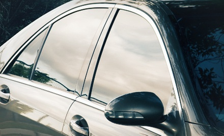 Window Tinting at Elite Auto Detailing (Up to 58% Off). Three Options Available.