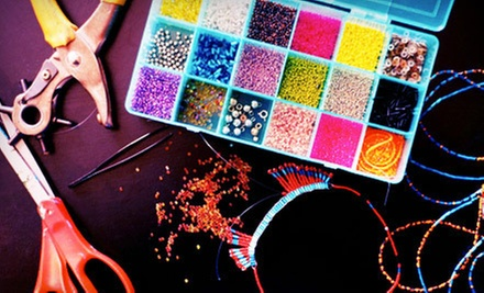 One or Three Beading or Jewelry Classes at The Bead Studio (Up to 56% Off)