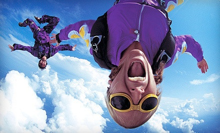 Tandem Skydiving Session and Souvenir T-Shirt for One or Two from DC Skydiving Center (Up to 51% Off)