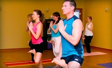 10 Yoga, Barre, or Zumba Classes or One Month of Unlimited Yoga, Barre, or Zumba Classes at Yoga 4 You (Up to 68% Off)