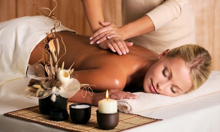 $59 for a Massage Package with Scalp, Hand, and Foot Treatment   at Inner Radiance Spa ($120 Value)