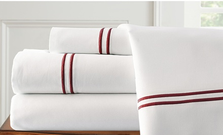 1,000TC Italian Hotel Collection Egyptian Cotton-Blend Sheet Sets