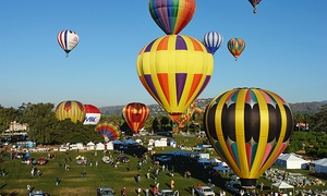 2014 Citrus Classic Balloon Festival On Friday, July 25 Or Saturday, July 26 (up To 34% Off)