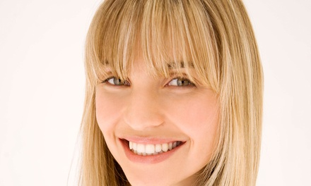 Cut and Conditioning with Partial or Full Highlights or Single-Process Color at GW Hair Salon and Spa (Up to 48% Off)