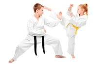 One Month of Classes, or Three Months with Uniform at American Masters Martial Arts (Up to 77% Off)