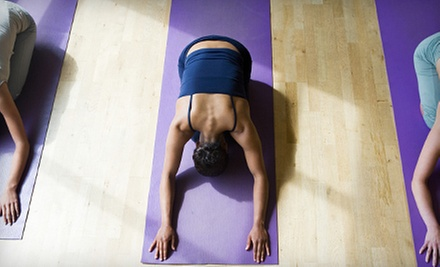 $15 for One Month of Unlimited Classes at Hot Yoga Edwardsville ($60 Value)
