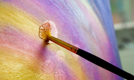 Admission for One, Two, or Four at Paint P-Art-Y (Up to 51% Off)
