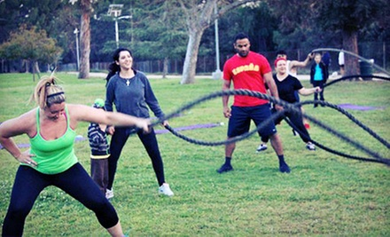 5 or 10 Boot-Camp Classes at Kevin&#x27;s Bootcamp (Up to 74% Off)