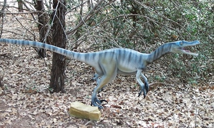 Visit for Two to The Dinosaur Park (43% Off)