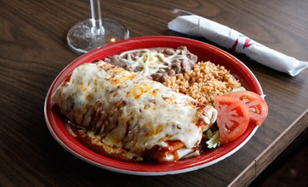 Mexican Food for Two or Four at Casa Santiago Mexican Restaurant (Half Off)
