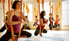 5 or 10 Yoga Classes at Om Factory (Up to 65% Off)