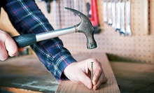 $49 for Two Hours of Handyman Services from Contractors Just 4U ($150 Value)