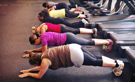 $60 for One Month of Unlimited Classes and Gym Access at Kingdom Fitness ($303 Value)