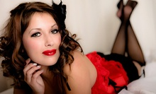 60-Minute Boudoir Photo Shoot with Optional Hairstyling or Corset at DeBoudoir (Up to 94% Off)