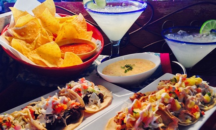 Mexican Food and Drinks for Dine-In or Takeout at Sergio's Cantina (Up to 50% Off). Three Options Available.