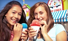 Shaved Ice and Ice Cream at LittleCow (Half Off). Two Options Available.