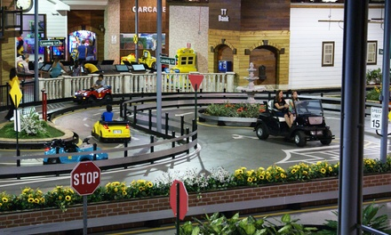 Four or Six Rounds of Kids' Driving Experience at Tiny Towne (Up to 37% Off)