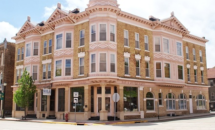 groupon daily deal - 1-Night Stay for Two in a Classic or Superior Room or Junior or Signature Suite at The Audubon Inn in Mayville, WI