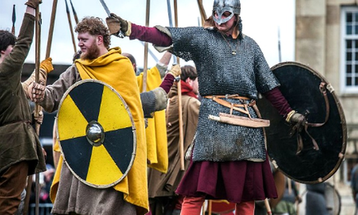 TRAVELSTYLE TOURS LTD - Hasland: York: Viking Festival Day Trip With Lunch For One for £35; or Two for £70