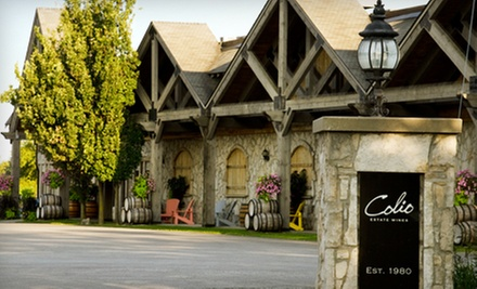 Estate Tour and Wine Tasting for Two, Four, or Six at Colio Estate Winery (Up to 58% Off)