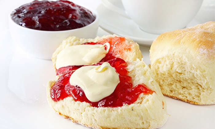 The Rasberry Cakery - Swansea: Cream Tea For Two (£4) or Four (£7.50) at The Raspberry Cakery (Up to 53% Off)
