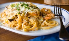 Italian Dinner for Two or Four or Italian Lunch for Two at Da Leonardo Bistro (Up to 52% Off)
