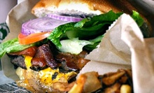 Burgers, Sandwiches, and Fries at Little Shanty (Up to 52% Off). Two Options Available. 