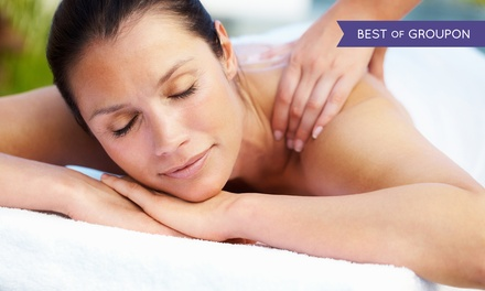 One or Three One-Hour Swedish or Deep-Tissue Massages at Oasis of Tranquility (54% Off)